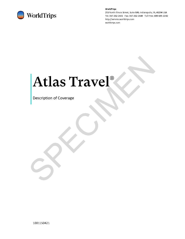 Atlas – Policy Specimen – 2021 Featured Image